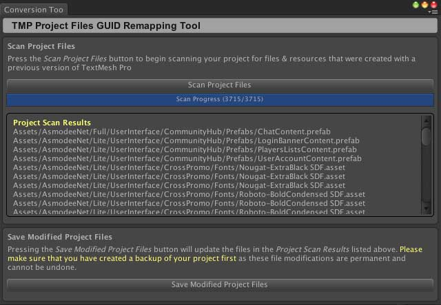 TextMesh Pro Evolutions — Asmodee net Unity SDK 4 2 0